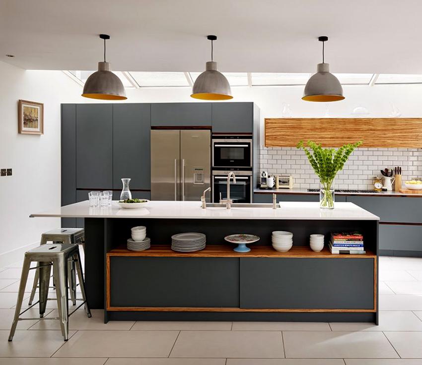 Кухни в скандинавском стиле являются комфортными и функциональными