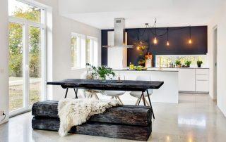 Кухня в скандинавском стиле: эстетика в сочетании с комфортом