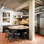 Кухня в стиле лофт: идеи для создания индустриальной лаконичности в интерьере подробно, с фото