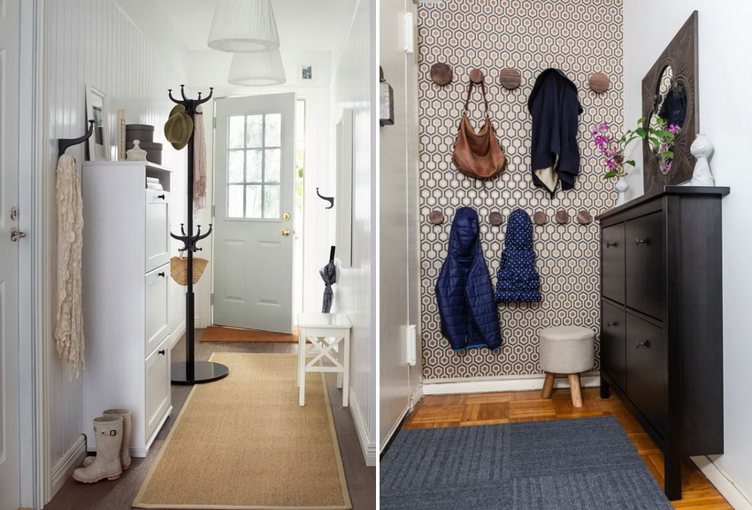 Подбор мебели в маленькую прихожую требует ответственного подхода к ее размерам