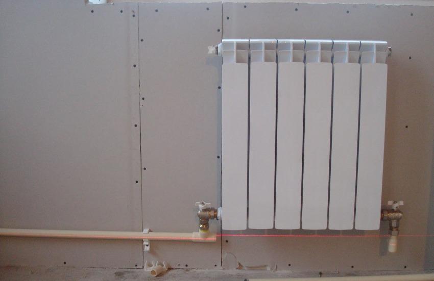 Для организации нормального отопления необходим радиатор, содержащий от 6 до 20 сегментов