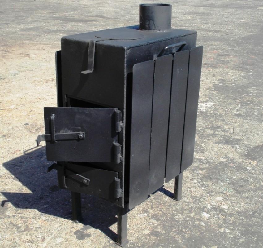 Отопление гаража буржуйкой – один из самых распространенных методов обогрева