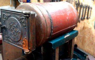 Печи для гаража: экономное тепло из подручных материалов
