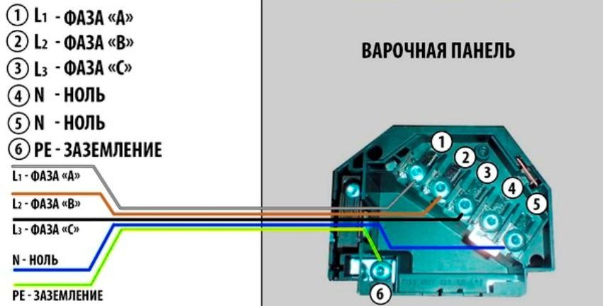 Подключение устройства к трехфазной сети 380 В