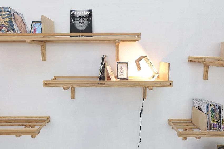 Настенные полки – это альтернатива габаритным конструкциям из дерева, фанеры и других материалов