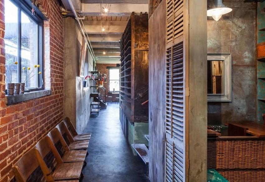 В интерьере стиля лофт приветствуется комбинирование вещей под старину и ультрасовременных предметов