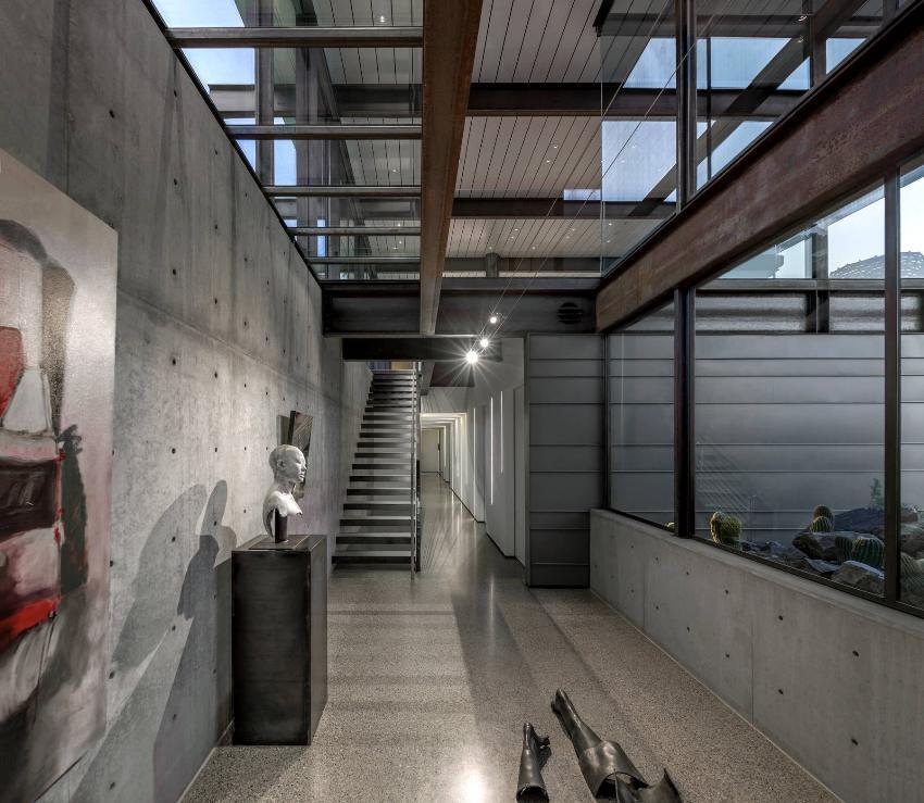 Лофт – современный промышленный стиль интерьера, характеризующийся обилием открытого пространства и наличием индустриальных элементов