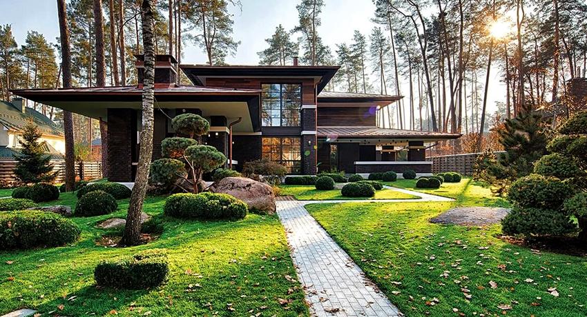 Проекты современных домов: простота в созвучии с функциональностью