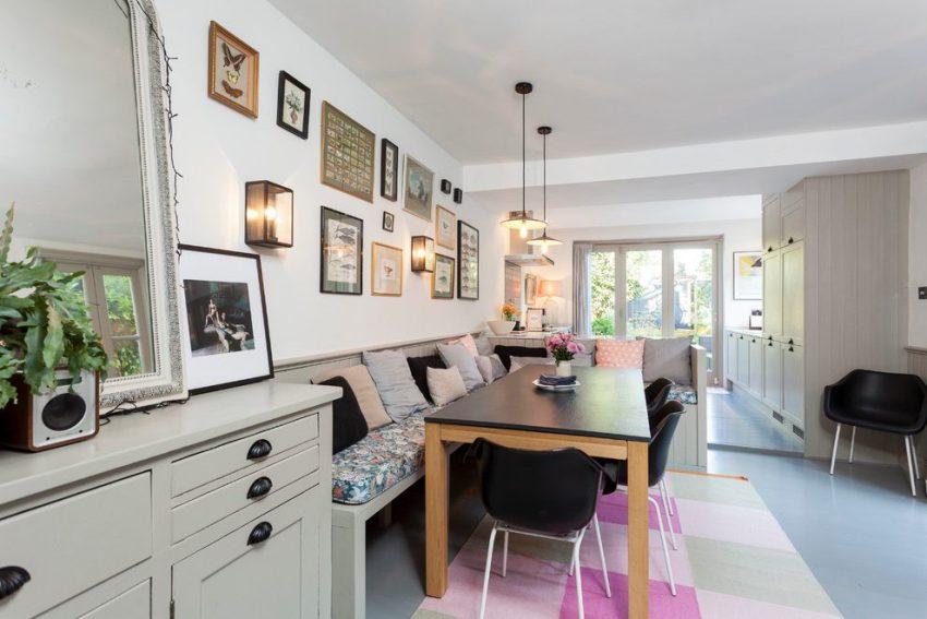 Скандинавский стиль наполнен элегантной практичной мебелью с простыми прямыми или закругленными формами