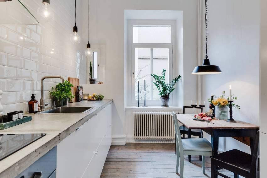 Основной отличительной чертой квартир со скандинавским интерьером является обилие яркого белого цвета