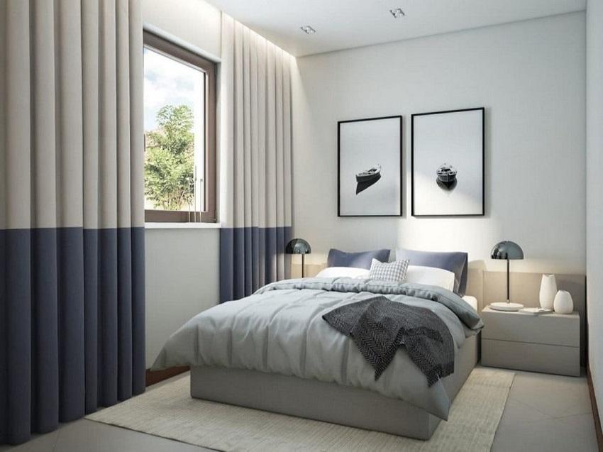Скандинавские шторы — это простой крой, светлые цвета и лёгкость