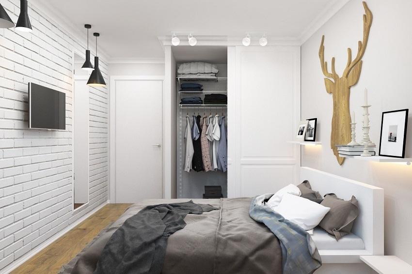 Основным цветом для скандинавского интерьера является белый
