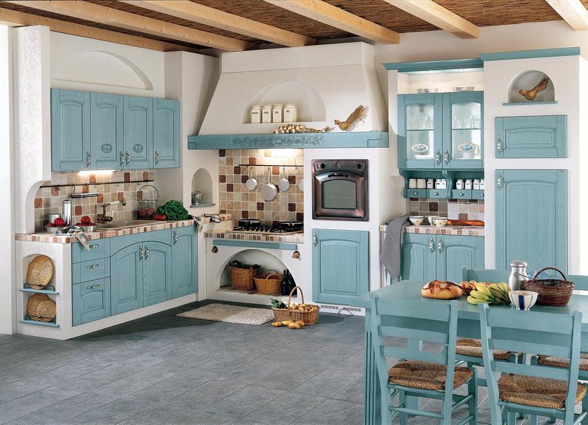 Кухня в стиле французской провинции - это уютное место для всей семьи