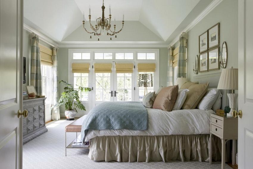 Текстиль в стиле прованс часто декорируется оборками, бантами, рюшами и другими деталями придающими предметам индивидуальность