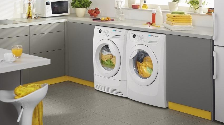 Для встраиваемых стиральных машин подготавливаются специальные ниши в мебели