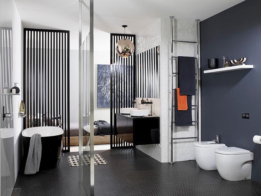 Скандинавские ванные комнаты отличаются простотой и уютом