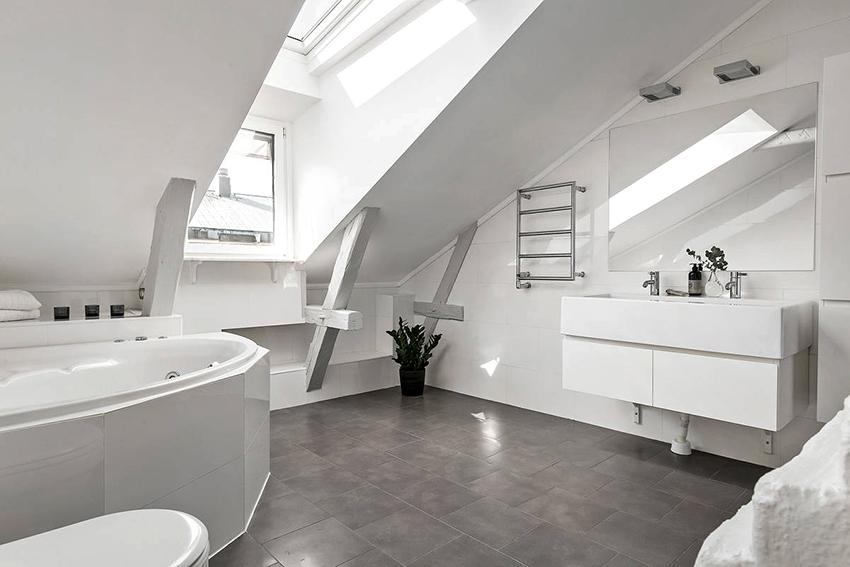 Самый популярный цвет в скандинавском стиле – это белый и его оттенки