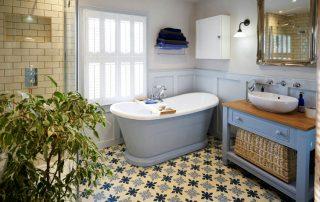 Ванная в скандинавском стиле: северная сказка на современный лад