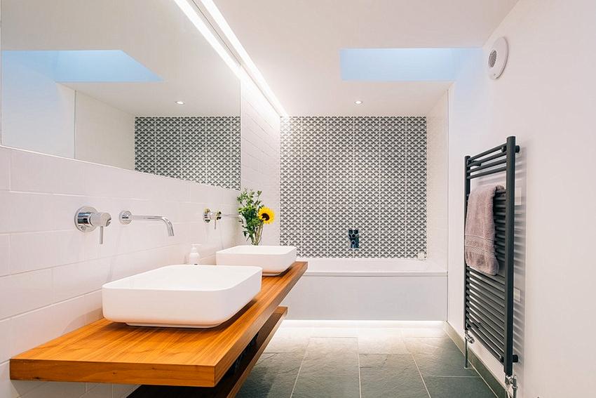 При выборе сантехники для скандинавской ванны необходимо помнить про умеренность