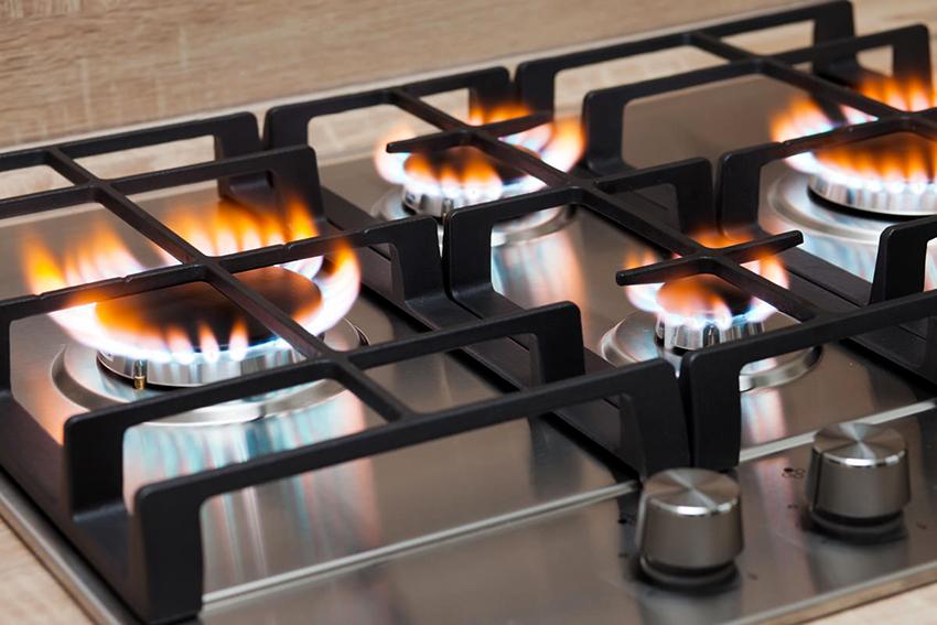 Газовые панели из нержавеющей стали отличаются резистентностью и долгим сроком службы