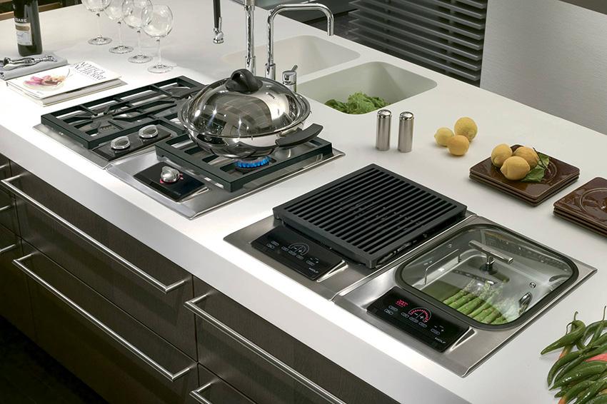 Газовые плиты стоят дешевле чем индукционные и электрические