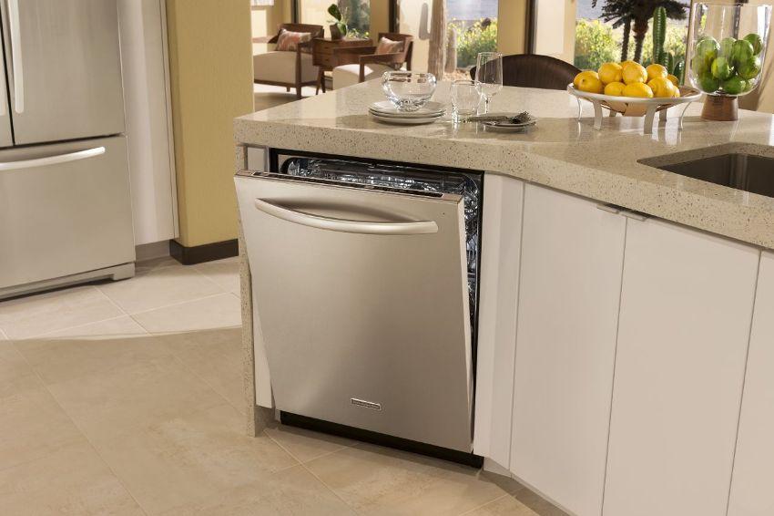 Перед покупкой посудомойки нужно самостоятельно проверить качество агрегата