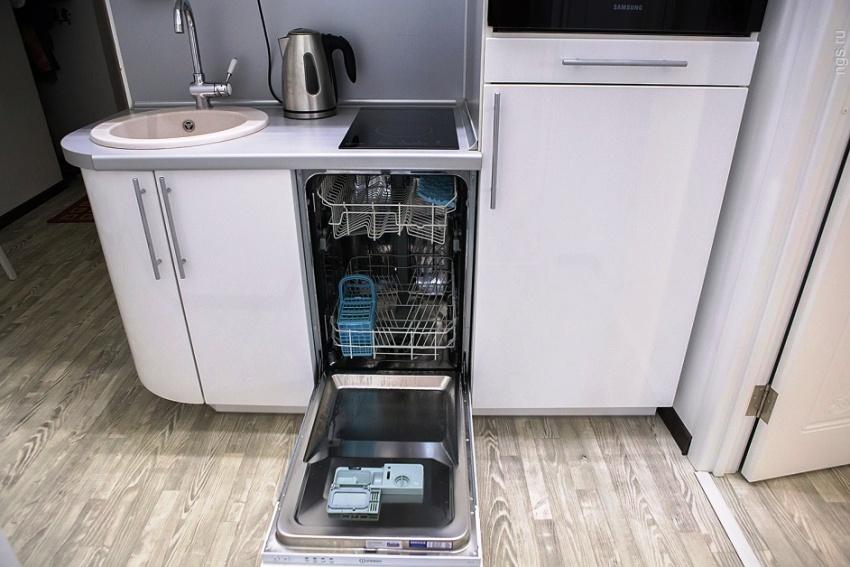 Посудомойка шириной 45 см – достаточно востребованный вид бытовой техники