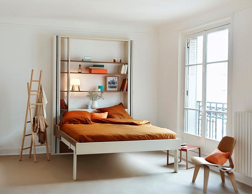 Кровать-трансформер – идеальный вариант для маленькой квартиры