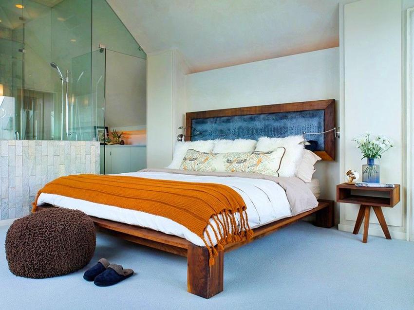 Самые распространенные материалы для изготовления кроватей – это металл, дерево, МДФ или ДСП