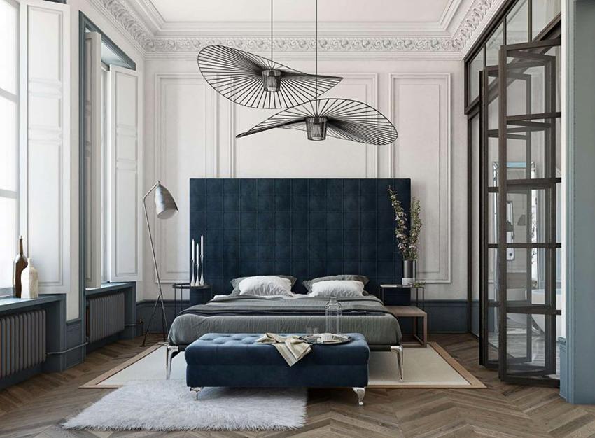 Двуспальную кровать можно выбрать в мебельном салоне или интернет-магазине