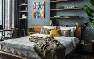 Двуспальная кровать: фото традиционных и эксклюзивных вариантов
