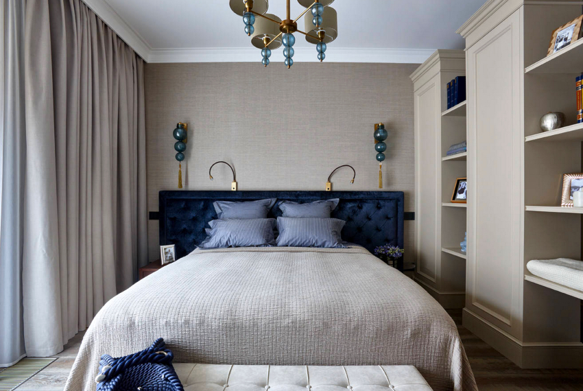 Классическим размером двуспальной кровати в Англии считается 80×60 дюймов