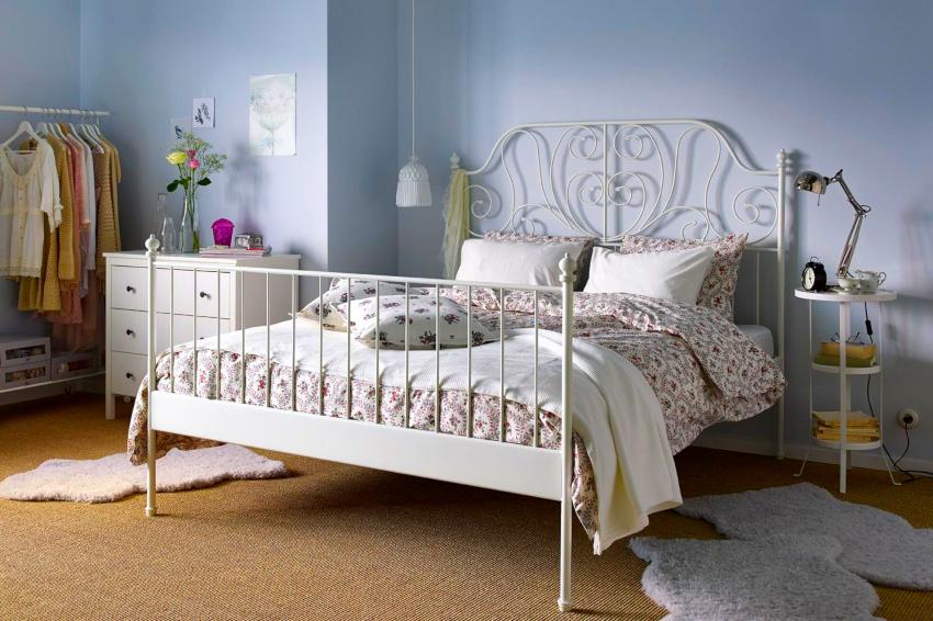 На все модели двуспальных кроватей Икеа распространяется гарантия качества
