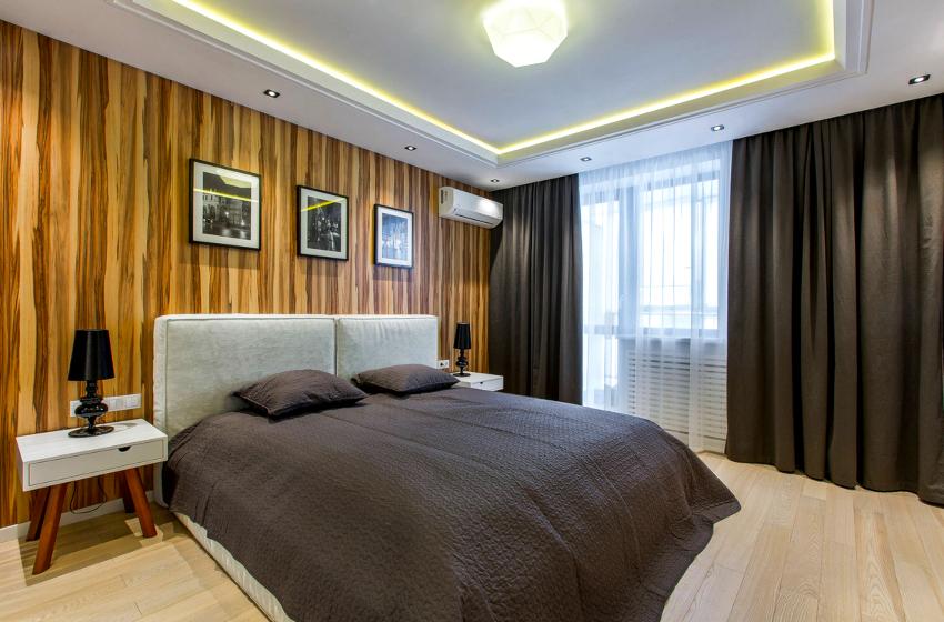 Наименьшая стандартная ширина для двуспальной кровати ‒ 140 см