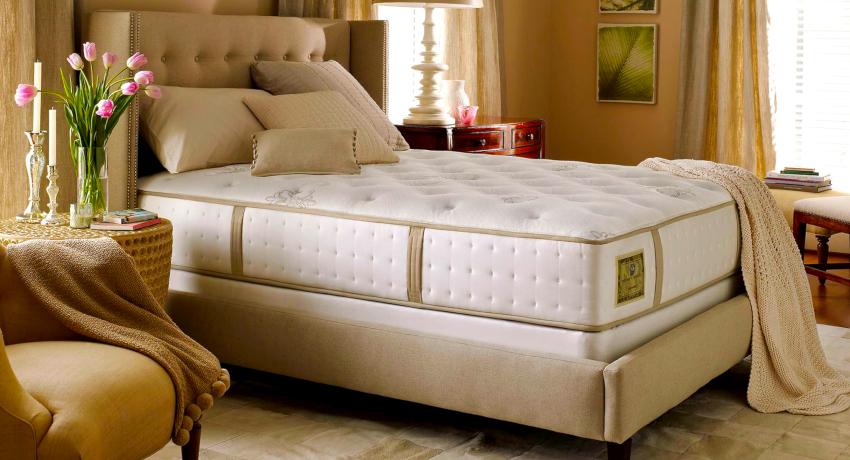 Выбор параметров матраса осуществляется с учетом габаритов каркаса кровати