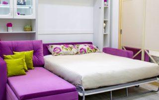 Двуспальная кровать-трансформер: популярный тренд для небольших квартир