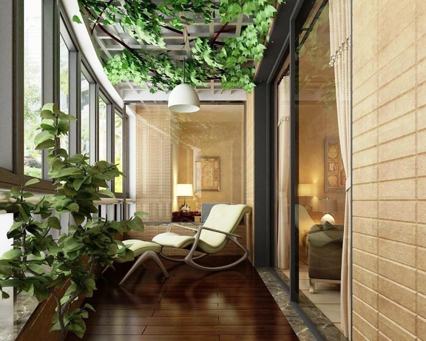 Существует немало разнообразных способов оформления французского балкона