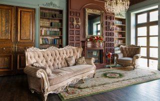 Интерьеры в классическом стиле как образец долговечности и респектабельности