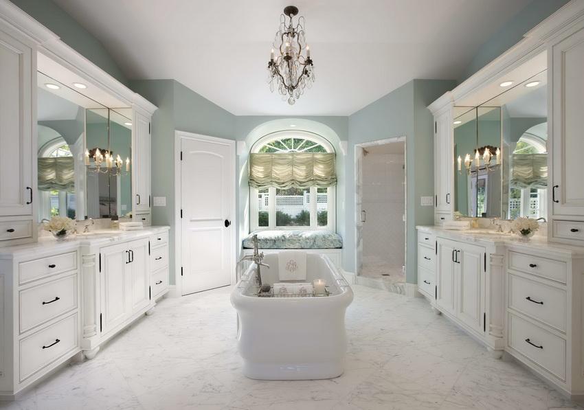 Как правило, в классическом стиле используются мягкие сдержанные цвета, приближенные к натуральным