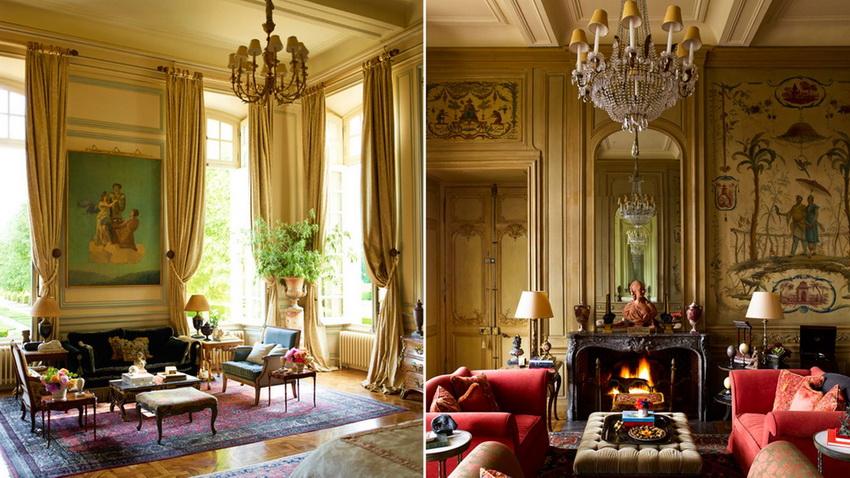 Резные украшения, лепнина и роспись на стенах - все это характерные черты классического стиля