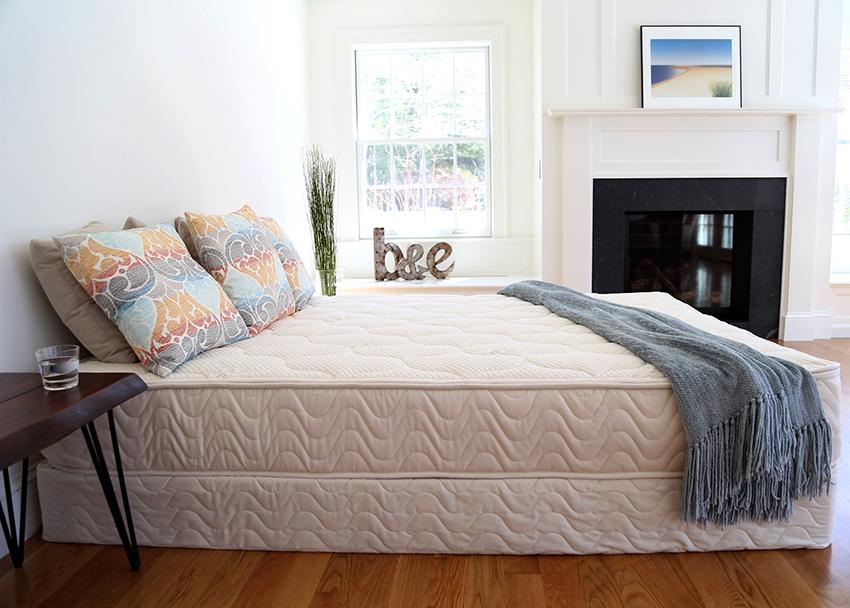 Матрасы на двуспальные кровати бывают разной степени жесткости