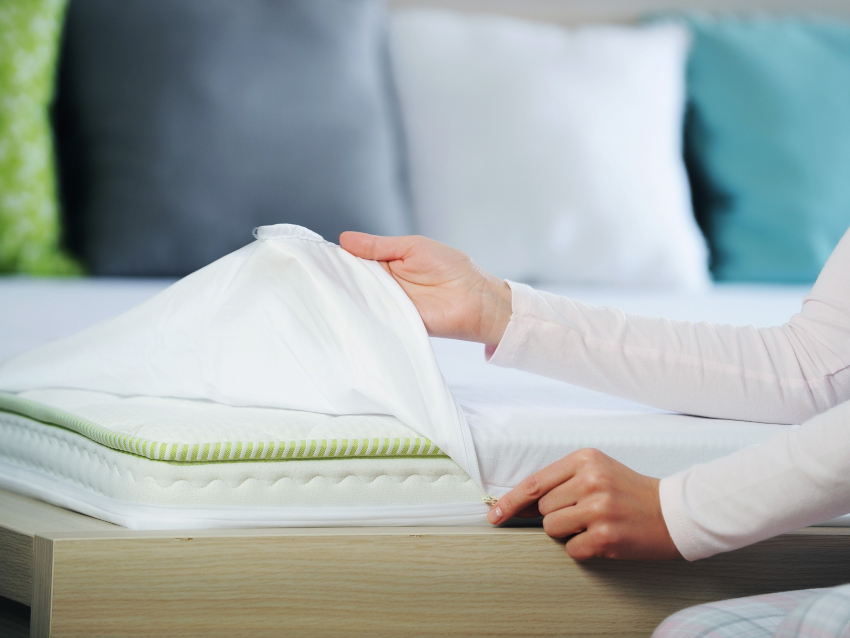 Для людей, страдающих аллергией лучшим решением является гипоаллергенный чехол