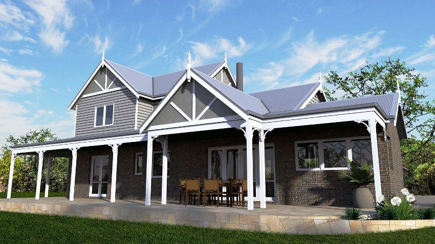Кирпичный дом - это выбор людей, желающих построить дом не на одно поколение