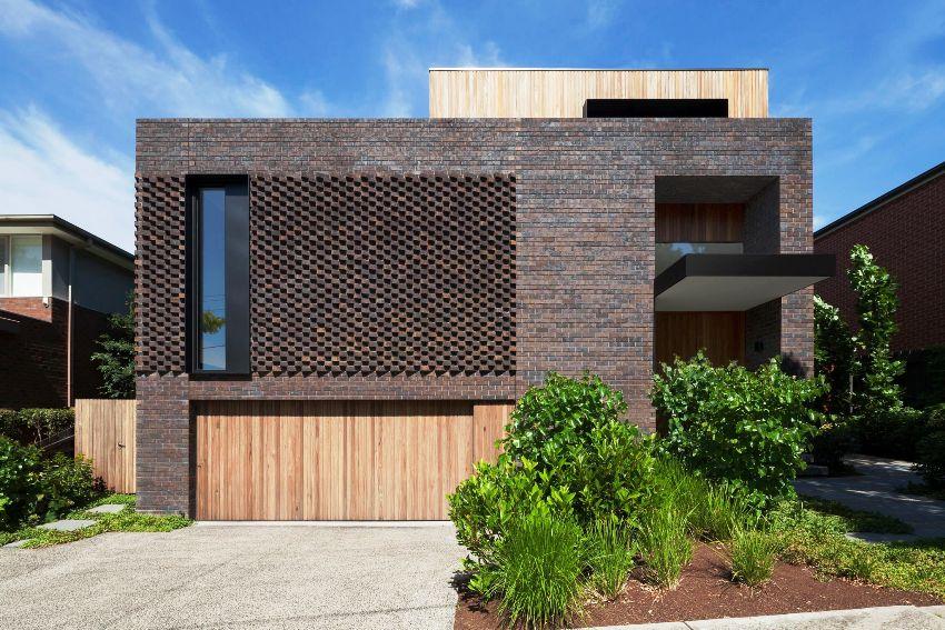 В архитектуре зданий в стиле минимализм используются простые формы и элементы