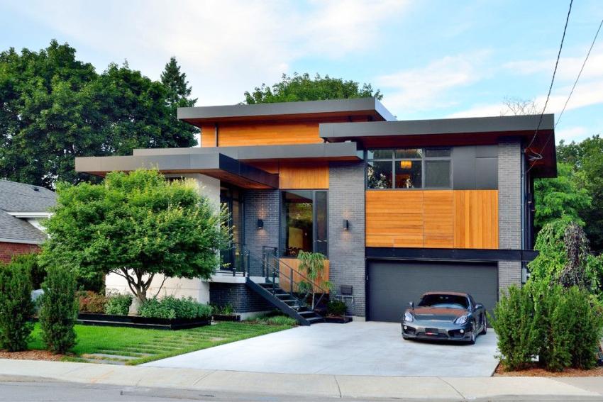 Одноэтажные кирпичные дома проигрывают в сравнении с презентабельными двухэтажными постройками