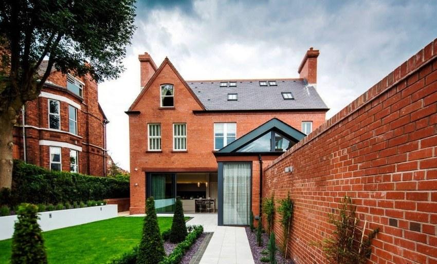Двухэтажные дома смотрятся очень красиво и дорого