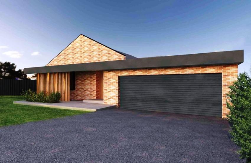 Сэкономить площадь позволяет гараж, который располагается внутри самого дома – на первом или цокольном этаже