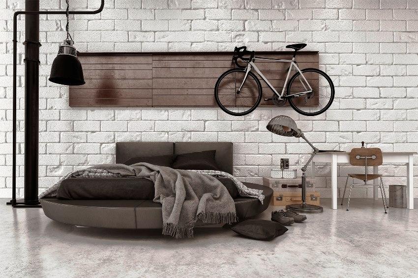 Цена на круглую кровать в первую очередь зависит от материала из которого она изготовлена