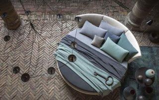 Круглые кровати: неординарно и стильно, красиво и удобно