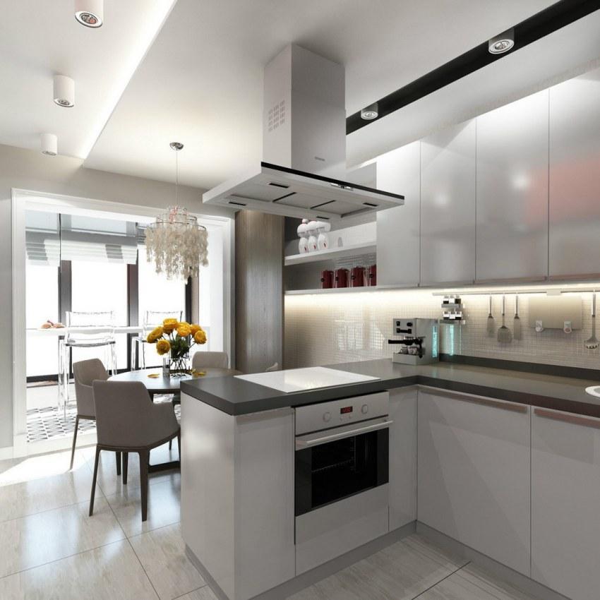 При рациональном подходе даже маленькую кухню можно превратить в уютное и функциональное помещение